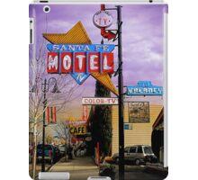 santa fe motel 2 iPad Case/Skin