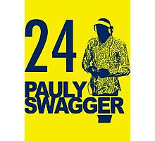 Pauly Swagger Photographic Print