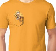 Pocket Yang Unisex T-Shirt