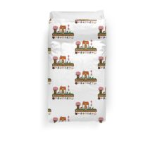 Animal Crossing home sampler Duvet Cover