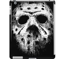 Hockey mask iPad Case/Skin