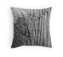 Lonely Seagrass Throw Pillow