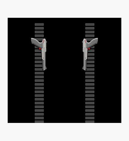 NES Zapper Leggings by Jango Snow Photographic Print