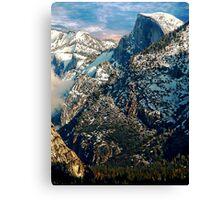 half dome 2 Canvas Print