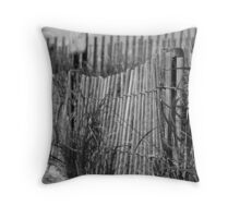 Lonely Pathway Throw Pillow