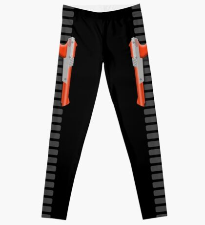 NES Zapper Leggings by Jango Snow (Orange edition) Leggings