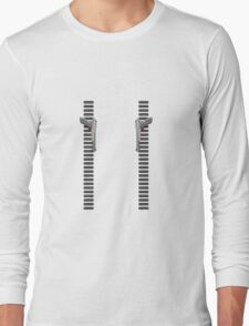 NES Zapper Leggings by Jango Snow Long Sleeve T-Shirt