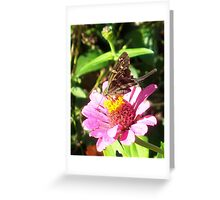 Flower Tails Greeting Card