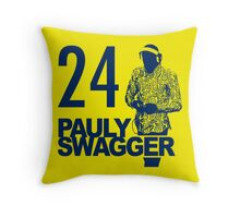 Pauly Swagger Throw Pillow