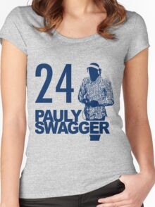Pauly Swagger Women's Fitted Scoop T-Shirt