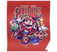 Video Game Circus Poster