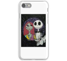 Jack skellington and Sally iPhone Case/Skin