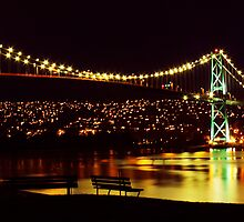 Lions Gate Bridge by Brian Carey