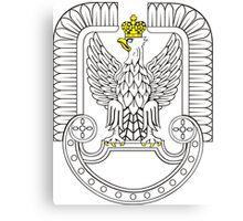 Polish Air Force's Eagle Insignia Canvas Print