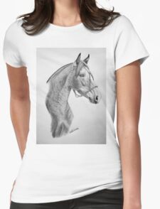 """""""Argentinian Beauty"""" - Criollo mare Womens Fitted T-Shirt"""