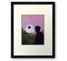 Not This Time Framed Print