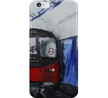 London Underground Northern Line Subway Train Acrylics iPhone Case/Skin
