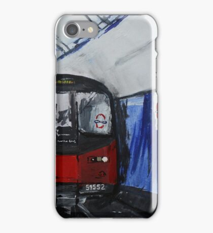 London Underground Northern Line Subway Train Acrylics iPhone Case/Skin