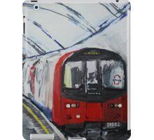 London Underground Northern Line Subway Train Acrylics iPad Case/Skin