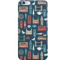 London Block Print - Multi by Andrea Lauren iPhone Case/Skin