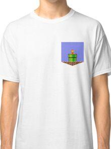 Super Mario Bros Breast Pocket Shirt Classic T-Shirt