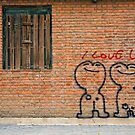 Love graffiti by dominiquelandau