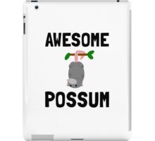 Awesome Possum iPad Case/Skin