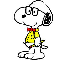 Snoopy nerd Photographic Print