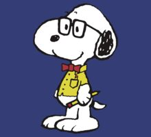 Snoopy nerd by Thomassus