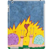 snail love iPad Case/Skin