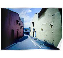 Coloured Passageway Poster