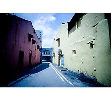Coloured Passageway Photographic Print