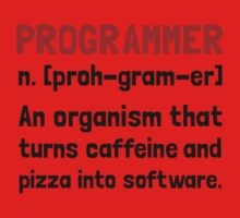 Programmer Definition Kids Clothes
