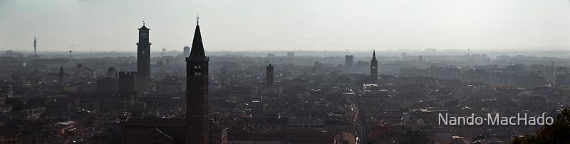 Verona Panorama by Nando MacHado