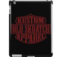 Old Skratch Kustom Apparel Shield iPad Case/Skin