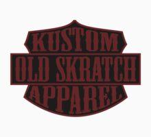 Old Skratch Kustom Apparel Shield Kids Clothes