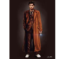 Tenth Doctor Full Body Portrait Photographic Print