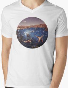 Dive In Mens V-Neck T-Shirt