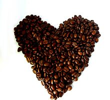 Heart of Coffee by TriciaDanby