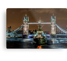 Battleship London Metal Print