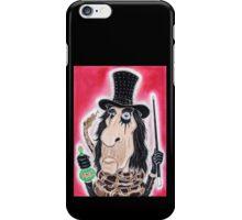 Rock Metal Legend Caricature Drawing iPhone Case/Skin