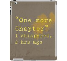 One More Chapter iPad Case/Skin