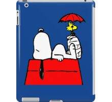 Woodstock with Snoopy iPad Case/Skin