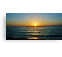 A Grecian Sunset Canvas Print