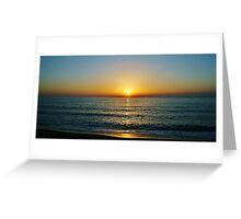 A Grecian Sunset Greeting Card