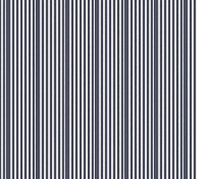 Bold Demin Blue and White Washed Stripes by Doreen Erhardt