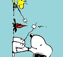 Snoopy and Woodstock Marshmallow by Thomassus