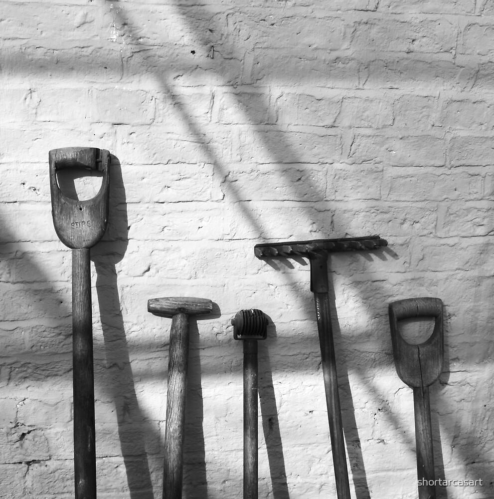 Gardening tools by shortarcasart