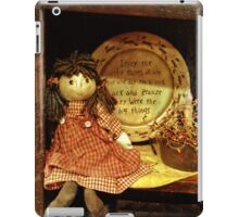 The little things are the big things iPad Case/Skin