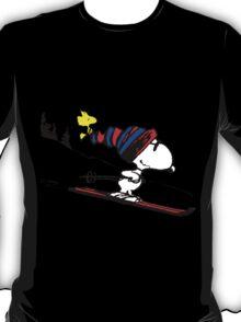 Snoopy on snow T-Shirt